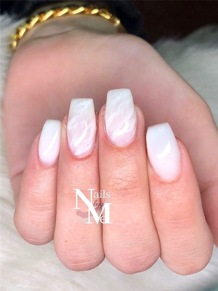 french nail designs ideas, include glitter nails, short nails, and long nails designs and more. If you want to manicure, you can browse our website from time to time. #frenchtipnails #frenchnails #nailart