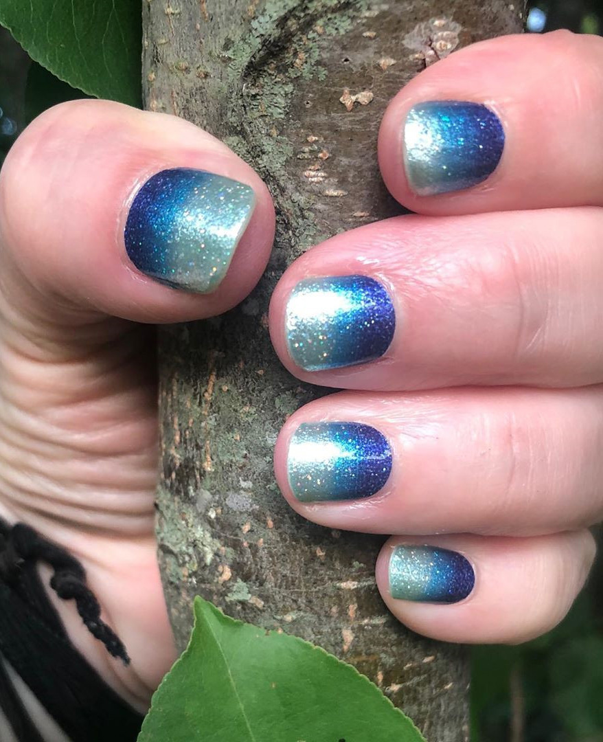 Summer nail ideas: we have put together 50 of the best summer nails. There is something for everyone from light and bright to bold to sparkling glitter. #summernailideas #summernails #nails2021trends
